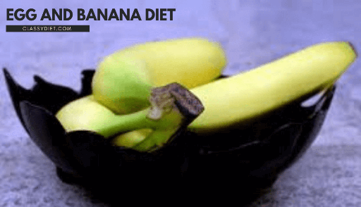 egg and banana diet