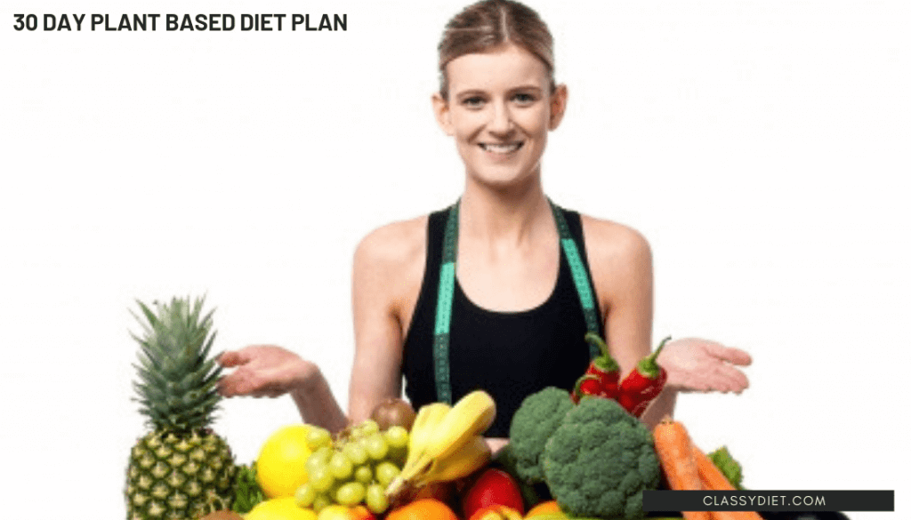 30 day plant based diet plan