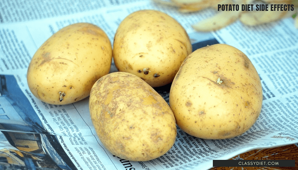 potato diet side effects