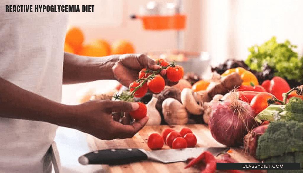 reactive hypoglycemia diet