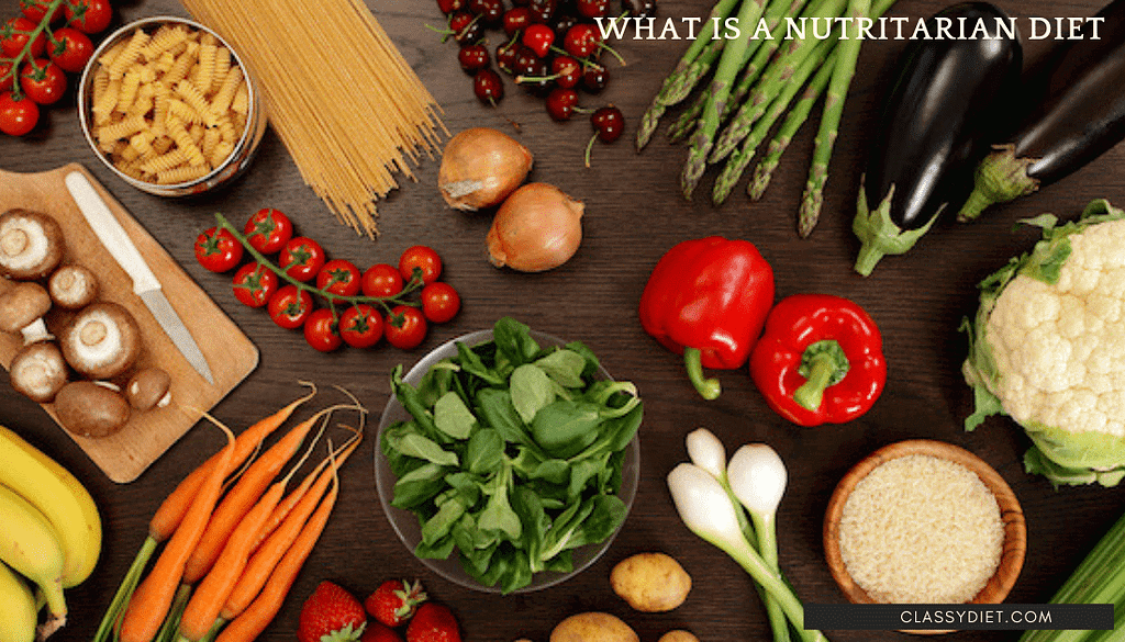 what is a nutritarian diet