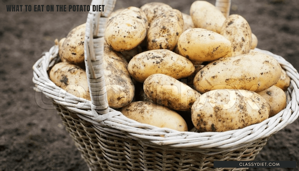 what to eat on the potato diet