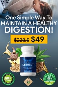 SynoGut - One Simple Way To Maintain A Healthy Digestion!